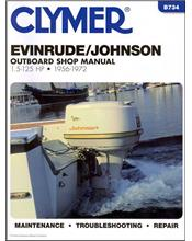 Evinrude / Johnson 1.5-125 HP Outboards 1956 - 1972