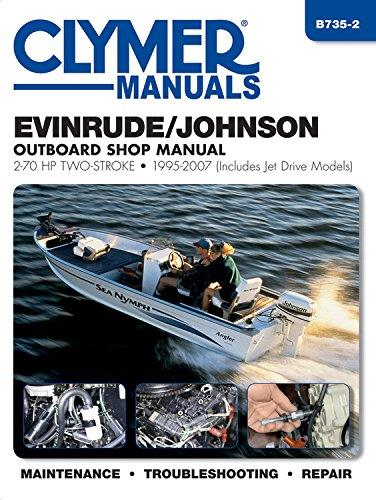Evinrude / Johnson 2-70 HP Outboards & Jet Drives 1995 - 2003 - Front Cover