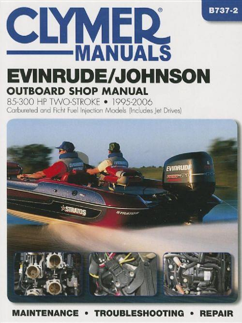 Evinrude/Johnson 85-300 HP Two-Stroke & Jet Drives, 1995 - 2006 - Front Cover