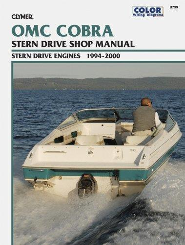 OMC Cobra SX & DP-S Duoprop Stern Drives 1994 - 2000