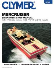 Mercruiser Stern Drives 1964 - 1985 Clymer Owners Marine Service & Repair Manual