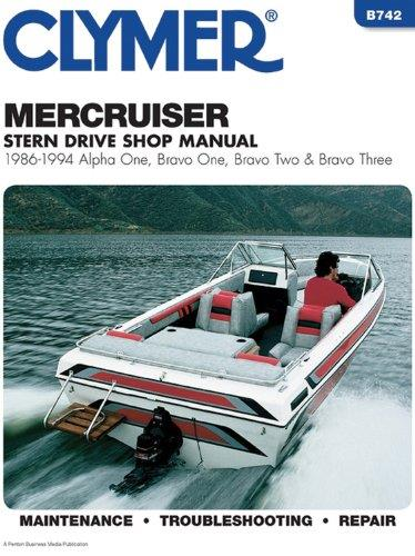 MerCruiser Alpha One, Bravo One, Two & Three Stern Drives 1986 - 1994 - Front Cover