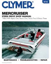 MerCruiser Alpha One, Bravo One, Two & Three Stern Drives 1986 - 1994