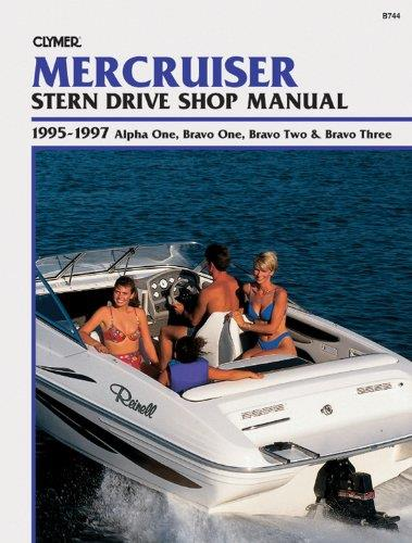 Mercruiser Alpha 1, Bravo 1, 2 & 3 Stern Drives, 1995 - 1997 - Front Cover