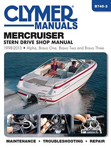 MerCruiser Alpha One, Bravo One, Two & Three Stern Drives 1998 - 2013 - Front Cover