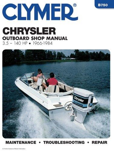 Chrysler 3.5 - 140 HP Outboards 1966 - 1984 - Front Cover