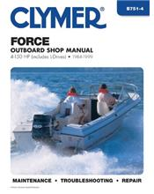 Force 4-150 HP Outboards (includes L-Drives) 1984 - 1999