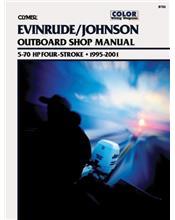 Evinrude Johnson 5-70 HP 4-Stroke Outboards 1995 - 2001
