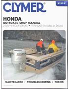 Honda 2-130 HP Four-Stroke Outboards (Includes Jet-Drives) 1976 - 2005