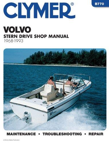 Volvo Penta Stern Drives 1968 - 1993 - Front Cover