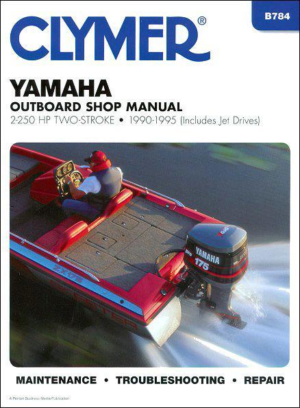 Yamaha 2-250 HP Two-Stroke Outboards and Jet Drives 1990 - 1995 - Front Cover