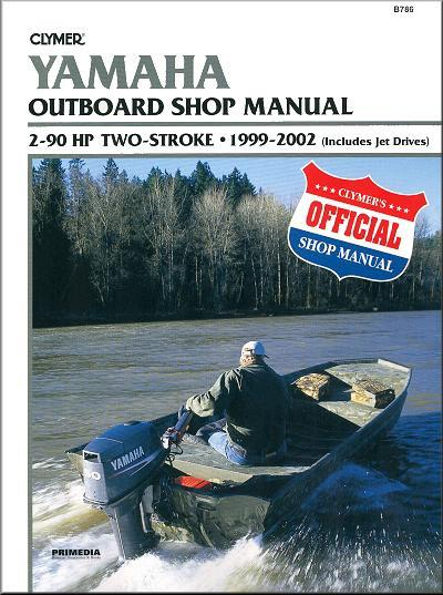 Yamaha 2-90 HP Two-Stroke Outboard and Jet Drive 1999 - 2002