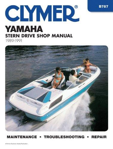 Yamaha Stern Drives 1989 - 1991 - Front Cover