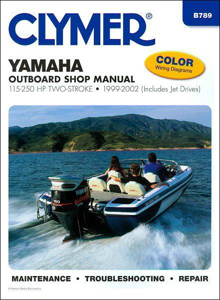Yamaha 115 - 250 HP Two-Stroke Outboard and Jet Drives 1999 - 2002 - Front Cover