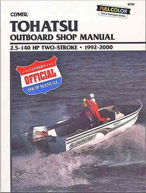 Tohatsu 2.5 - 140 HP Two-Stroke Outboards 1992 - 2000