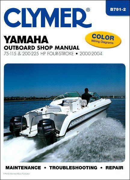 Yamaha 75-115 & 200-225 HP Four-Stroke Outboards 2000 - 2004