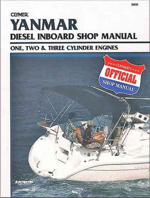 Yanmar Diesel Inboard One, Two and Three Cylinder Engines 1980 - 2009 - Front Cover