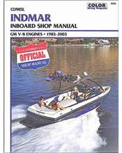 Indmar GM V-8 Inboards 1983-2003 Clymer Owners Marine Service & Repair Manual