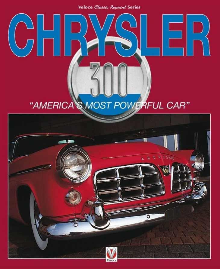 Chrysler 300 : America's Most Powerful Car - Front Cover