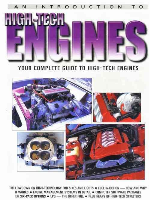 An Introduction to High-Tech Engines - Front Cover