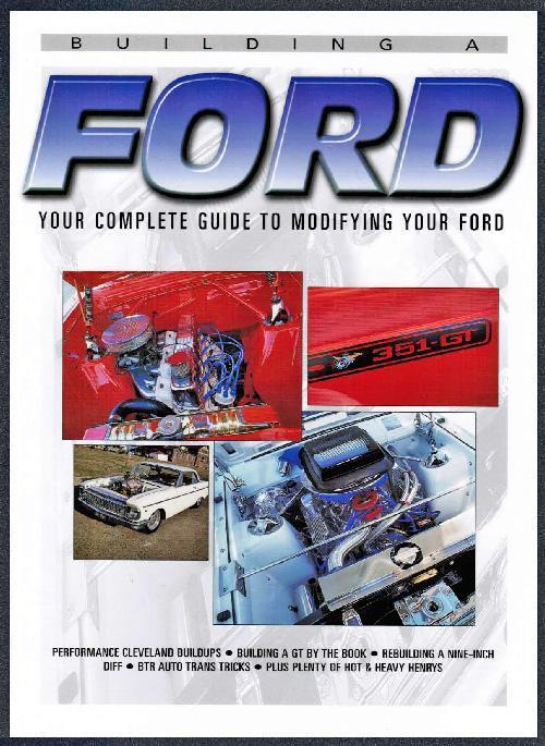 Building A Ford - Front Cover