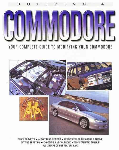 Building a Commodore - Front Cover
