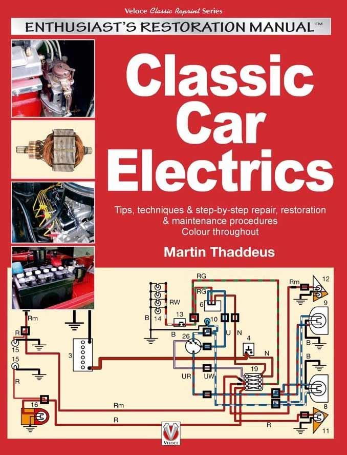 Classic Car Electrics : Enthusiast's Restoration Manual - Front Cover