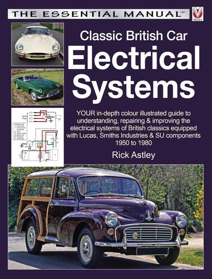 Classic British Car Electrical Systems - Front Cover