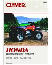 Honda TRX450 Foreman ATV 1998 - 2004 Clymer Owners Service & Repair Manual