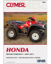 Honda TRX500 Foreman ATV 2005 - 2011 Clymer Owners Service & Repair Manual