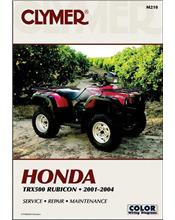 Honda TRX500 Rubicon ATV 2001 - 2004 Clymer Owners Service & Repair Manual