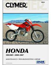 Honda XR650R 2000 - 2007 Clymer Owners Service & Repair Manual