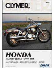 Honda VTX1300 Series 2003 - 2009 Clymer Owners Service & Repair Manual