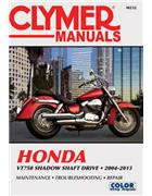 Honda VT750 Shadow Shaft Drive 2004 - 2013 Clymer Owners Service & Repair Manual