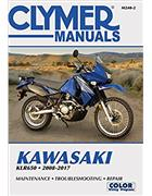 Kawasaki KLR650 2008 - 2017 Clymer Owners Service & Repair Manual