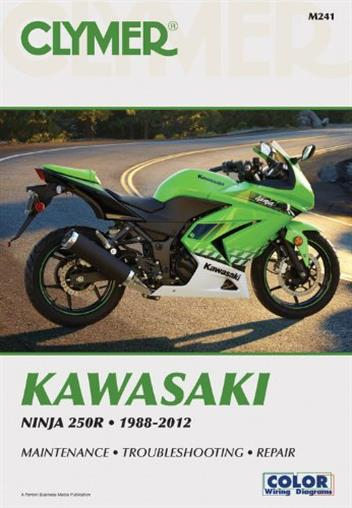 Kawasaki Ninja 250R 1988 - 2012 Clymer Owners Service & Repair Manual - Front Cover
