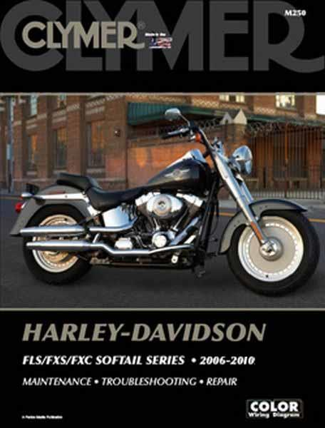 Harley-Davidson FLS, FXS, FXC Softail Series 2006 - 2010 (Plus CD)