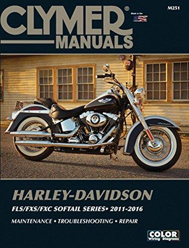 Harley-Davidson FLS, FXS, FXC Softail Series 2011 - 2016 - Front Cover