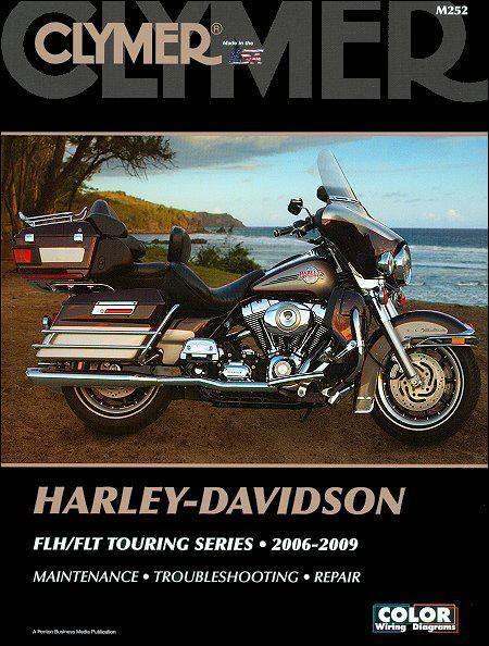 Harley-Davidson FLH & FLT Touring Series 2006 - 2009 (Includes CD Rom) - Front Cover