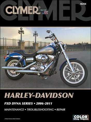 Harley Davidson FXD Dyna Series 2006-2011 (CD with ... on
