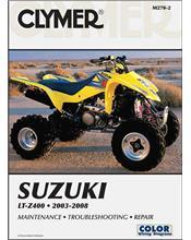Suzuki LT-Z400 2003 - 2008 Clymer Owners Service & Repair Manual