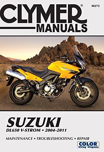 Suzuki Dl-650 V-Strom 2004 - 2011 Clymer Owners Service & Repair Manual - Front Cover
