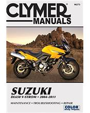 Suzuki Dl-650 V-Strom 2004 - 2011 Clymer Owners Service & Repair Manual