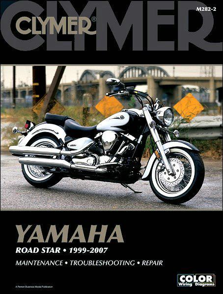 Yamaha Road Star 1600, 1700 1999 - 2007 Clymer Owners Service & Repair Manual - Front Cover