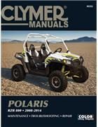 Polaris RZR 800 2008 - 2014 Clymer Owners Service & Repair Manual