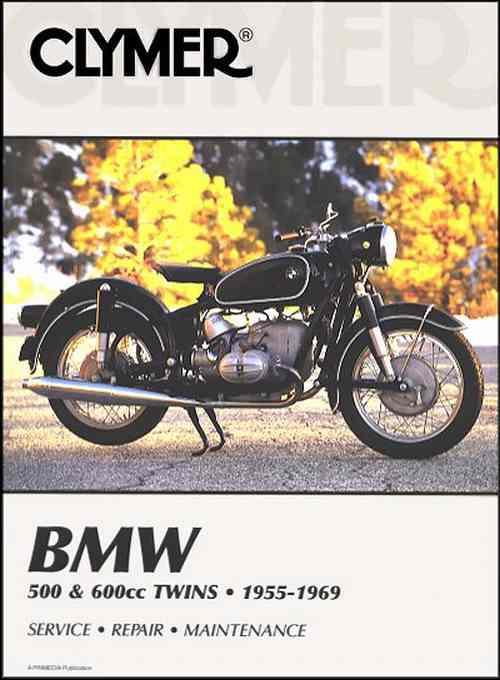 BMW 500 & 600cc Twins 1955 - 1969 Clymer Owners Service & Repair Manual - Front Cover