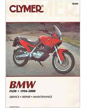 BMW F650 Funduro, Strada 1994 - 2000 Clymer Owners Service & Repair Manual