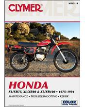 Honda XL75, XR75, XL80, XR80, XL100, XR100 1975 - 1991