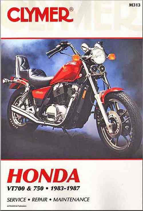 Honda VT700, VT750 Shadow 1983 - 1987 Clymer Owners Service & Repair Manual - Front Cover