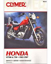 Honda VT700, VT750 Shadow 1983 - 1987 Clymer Owners Service & Repair Manual